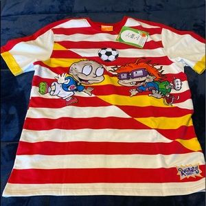 Brand NWT Rugrats Rugby XL Rugby Shirt